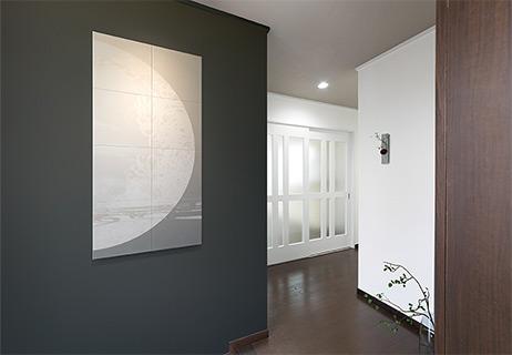 玄関におけるArt&Photo EDPK1260/11使用イメージ